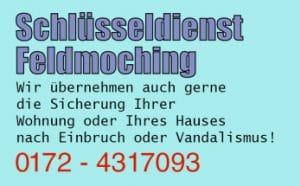 Schlüsseldienst München Feldmoching